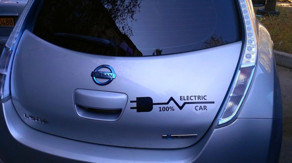 electric car nissan